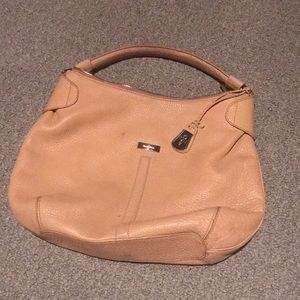 Cole Haan tan leather purse!